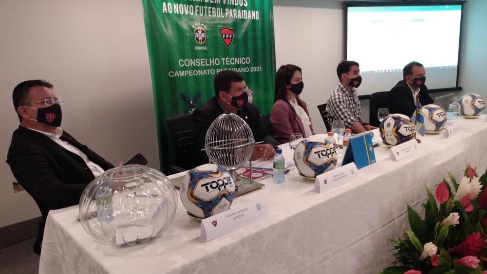 Clubes e FPF definem fórmula de disputa e tabela do Campeonato Paraibano