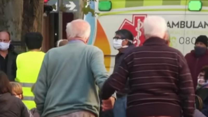 Pandemia: Argentina tem 50 vezes menos mortes que o Brasil